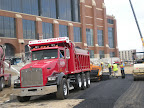 Lucas Oil Stadium - City Wide Paving Installs Asphalt for Roadway