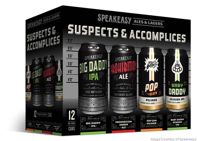 """Speakeasy Ales & Lagers Releases New Variety Pack """"Suspects & Accomplices"""" for Summer 2018"""