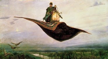 Viktor Mikhailovich Vasnetsov Flying Carpet