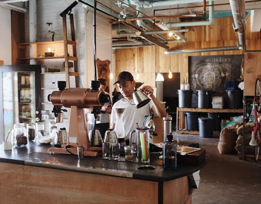 Anthology coffee, Detroit. From Midwest Travel Experts on 50 best coffee roasters you need to know