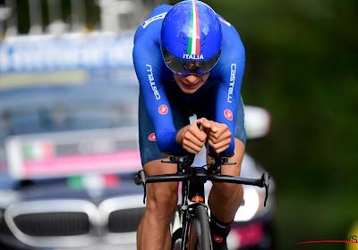 Renner van Trek-Segafredo komt zwaar ten val in laatste meters tijdrit UAE Tour: hij moest naar het ziekenhuis en verschijnt niet meer aan de start van de derde rit