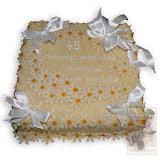 17. kép: Ünnepi torták - Ünnepi virágos szalagos torta