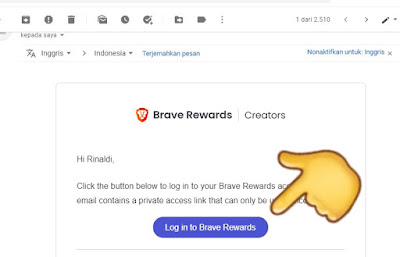 Cara Verifikasi Situs Sebagai Kreator Brave Browser Rewards (Penerima Hadiah)