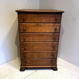 Tiger Oak Maple Dresser