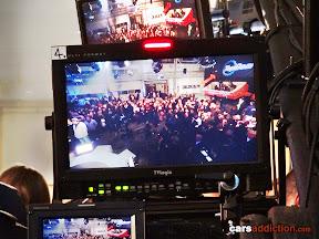 Top Gear studio filming