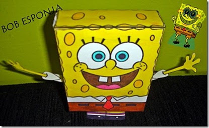 Recortable Bob Esponja