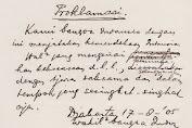 17 Agustus, Naskah Proklamasi Tulisan Soekarno Bakal Dipamerkan di Istana