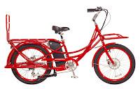 Minilastcykel Pedego stretch