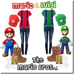 ideas disfraz ultima hora de Mario y Luigi