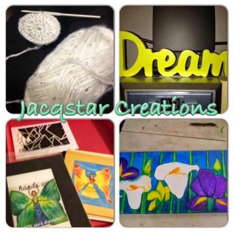 Jacqstar Creations, handmade, craft, small business, art with heart
