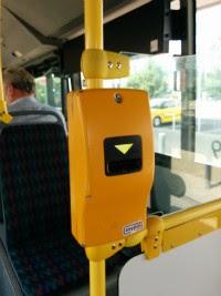 Автомат для пробития проездного билета, Чехия