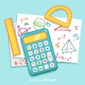 Cartoon Math Free Download Vector CDR, AI, EPS and PNG Formats