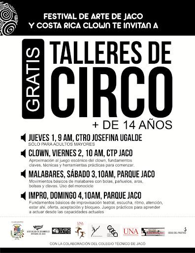 Talleres Costa Rica Clown - Festival de Arte Jacó 2012