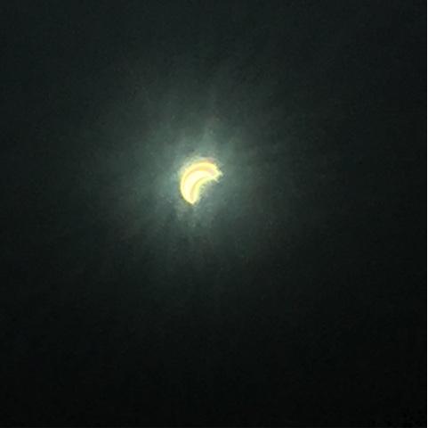 Gambar Gerhana Matahari March 2016