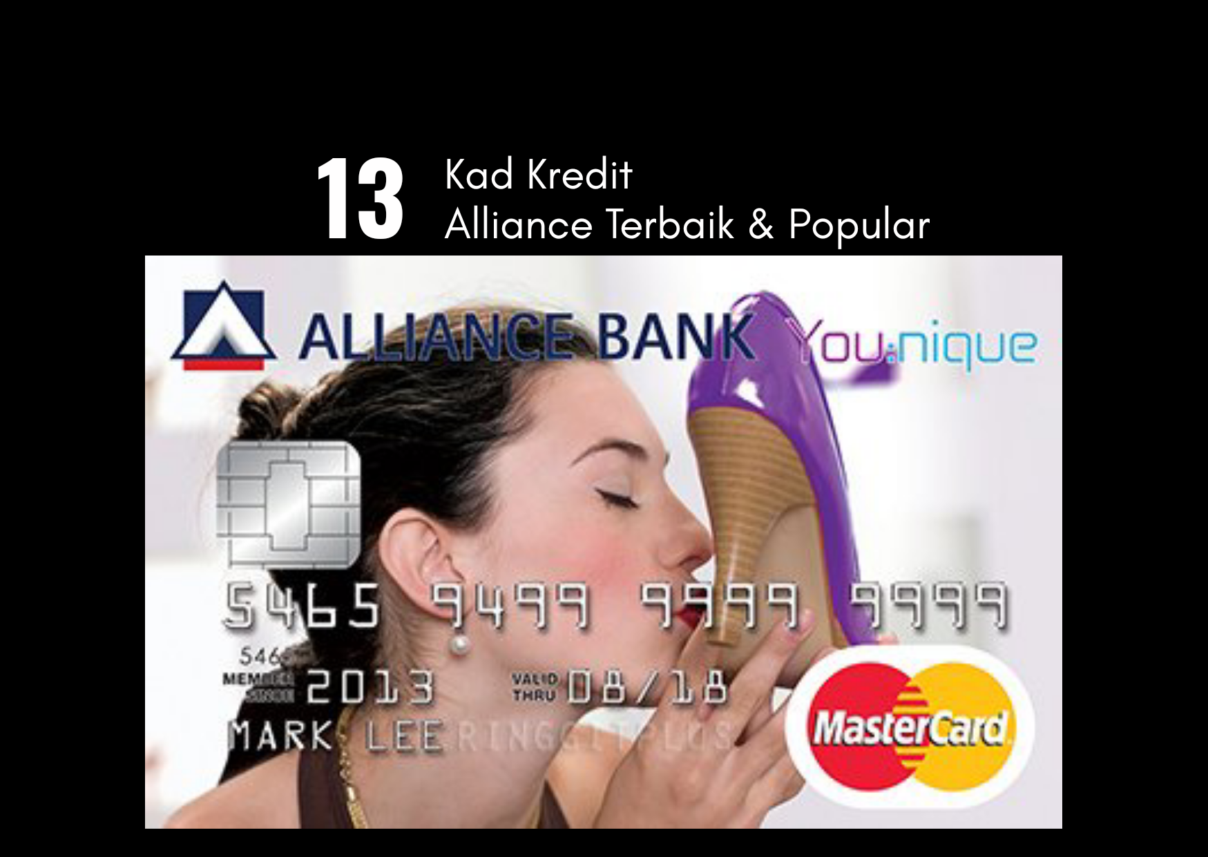 13 Kad Kredit Alliance Bank Popular