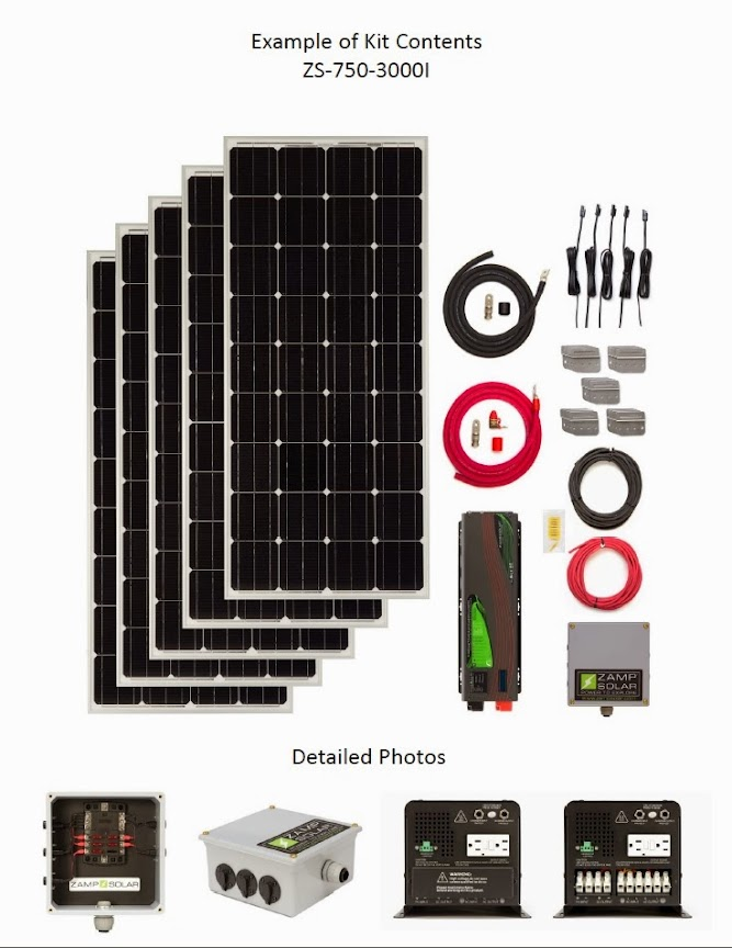 Large Off Grid Solar Kits Complete And Ready To Install