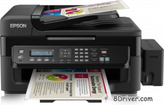 Review Epson L555 printer and download drivers