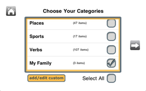 Naming TherAppy Categories