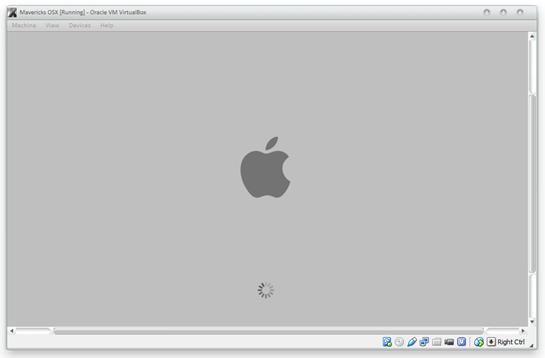 mac osx on virtual box