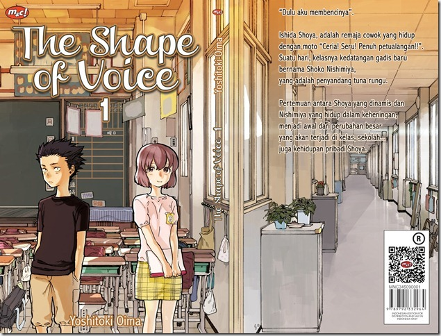 Shape of voice volume 1