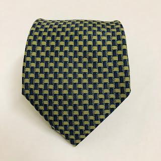 Hermès Basketweave Tie