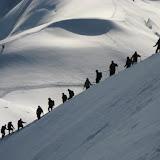 Fotos de Couloir Gervasutti, Tour Ronde (Vallée Blanche, Alpes franceses).