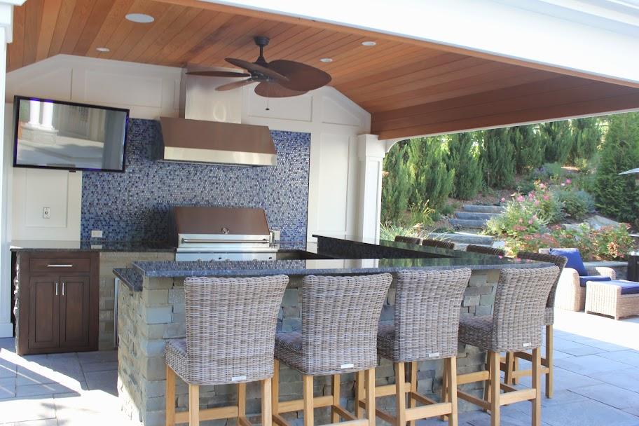 Bar Height Kitchen Island