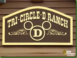 Tri circle D ranch logo