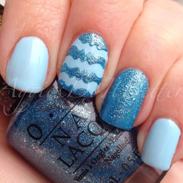 Aggies Do It Better: Decorative Stripes Nail Art plus tutorial!