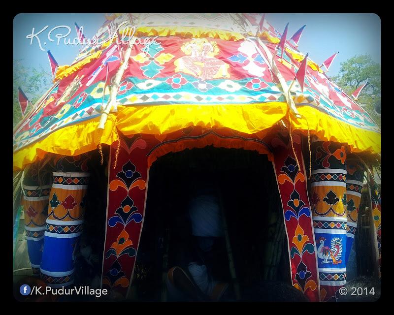 K.Pudur Village Chariot festival 2014 (Chariot closeup photo)