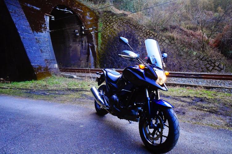 廃線とバイク