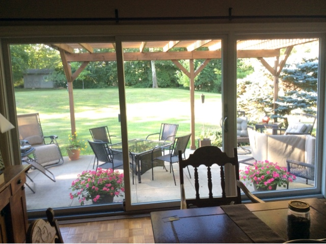 12 Ft Patio Door 1 8 Ft 1 Ft Panel The Love The Feel In There