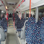 Het interieur van de Mercedes Citaro van Connexxion / TCR bus 513-1024