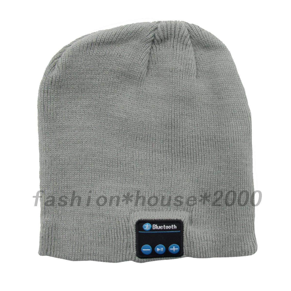 Wireless-Bluetooth-Audio-Speaker-Headset-Hat-Headphone-Earphone-Cap-Player-Music