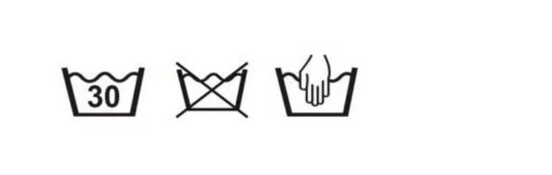 Resultado de imagem para simbolo de lavagem a água