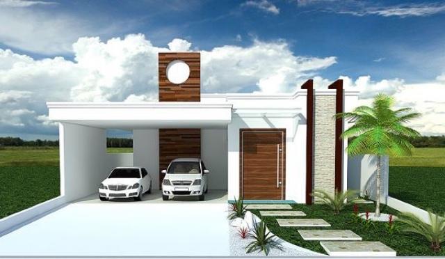 Projetos de casas simples: 15 modelos - Tudo Construção