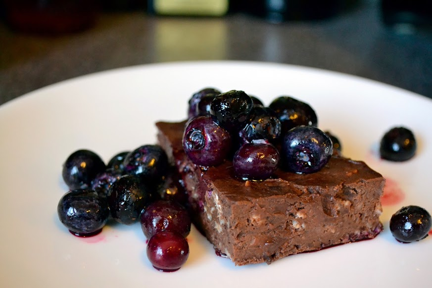 Gluten Free Black Bean Fudge Brownies