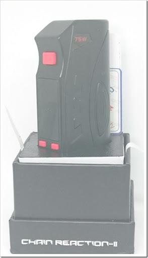 DSC 3903 thumb%25255B2%25255D - 【MOD】「AMIGO ITSUWA CHAIN REACTION-II MOD」レビュー。かっこいいグリップのMOD【VAPE/電子タバコ】