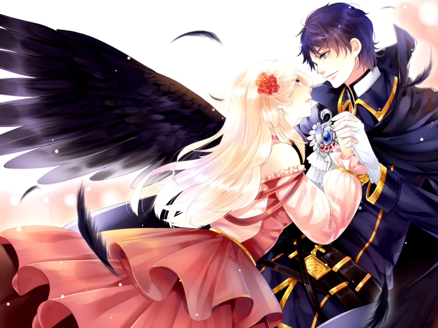 Anime Angel Wings Wallpaper Cool Hd Hd Wallpapers Gallery