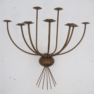 Bronzed Wall Sconce #1