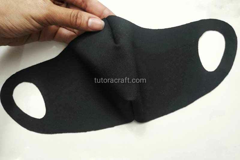 Moldes máscara estilo ninja em neoprene para imprimir