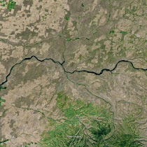 Snake River thru Washington with adjacent Ice Age Flood features (GoogleEarth views)