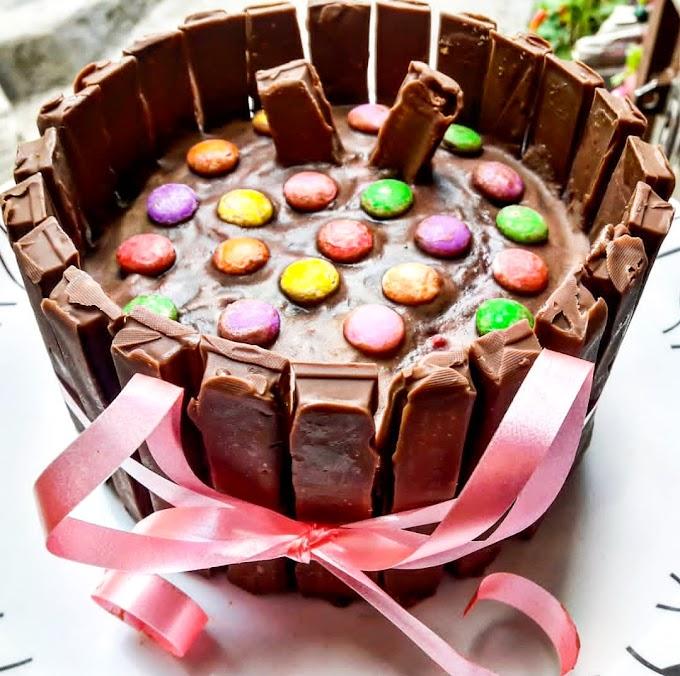 Homemade KitKat Cake Recipe | Breakfast Care