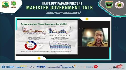 IKAFE DPC Padang helat Webinar tentang Ekonomi Sumbar