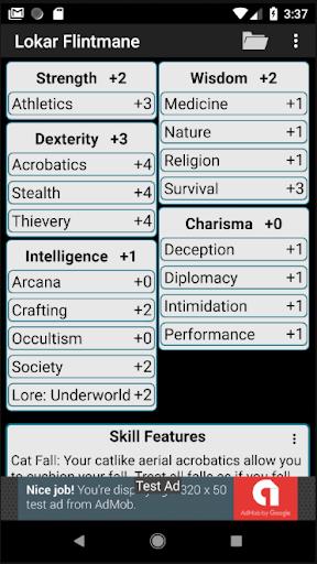 Second Edition Character Sheet 0.97f screenshots 2