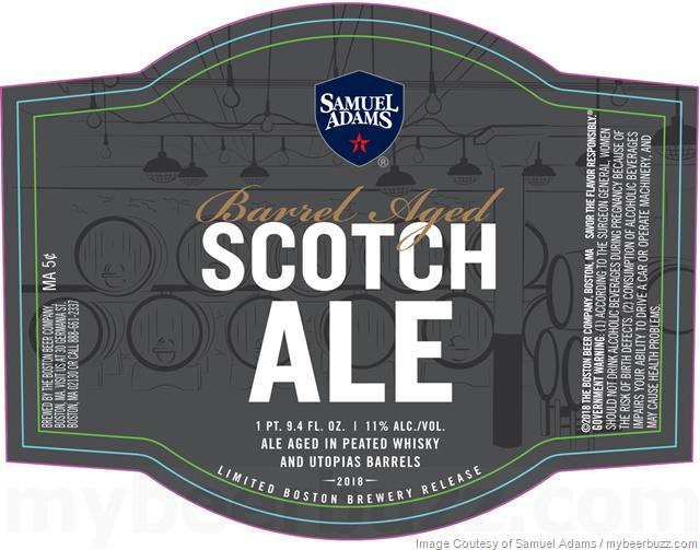 Samuel Adams Adding Barrel Aged Scotch Ale