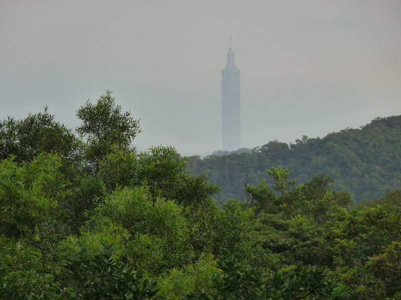 Taipei 101 vue de très loin