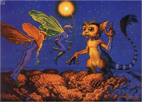 Nivick Warns The Little People, Magic Animals 1