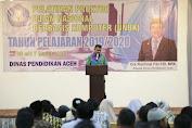 Jelang Ujian Nasional Berbasis Komputer (UNBK), Dinas Pendidikan Aceh Gelar Pelatihan Proktor