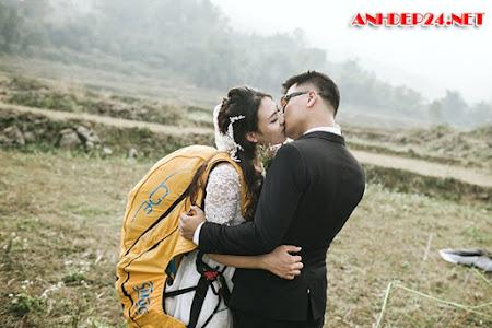 Đám cưới dù lượn độc nhất vô nhị ở Việt Nam